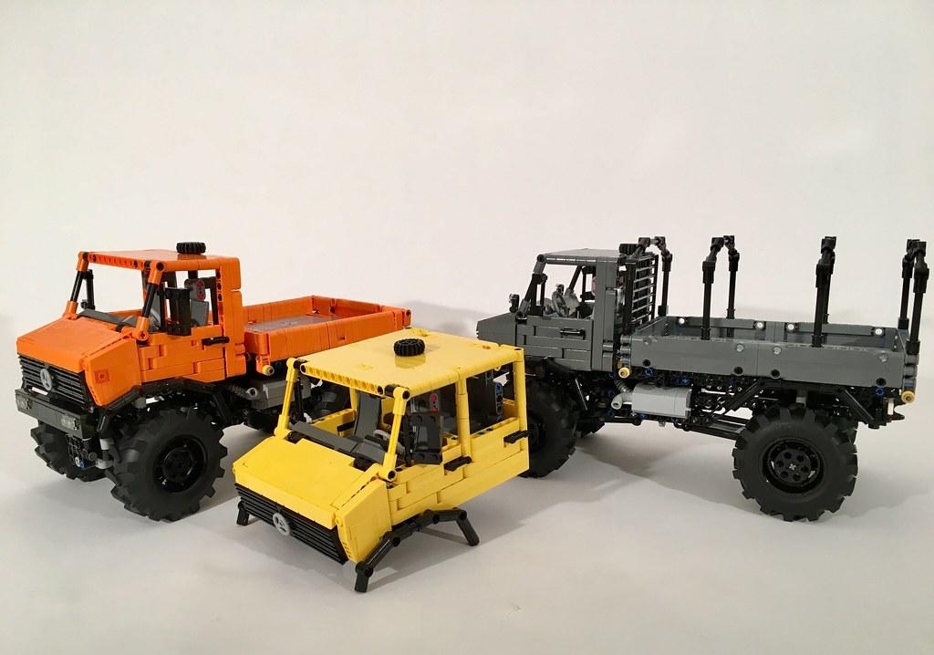 Moc Unimog 437 Lego Technic And Model Team Eurobricks Forums