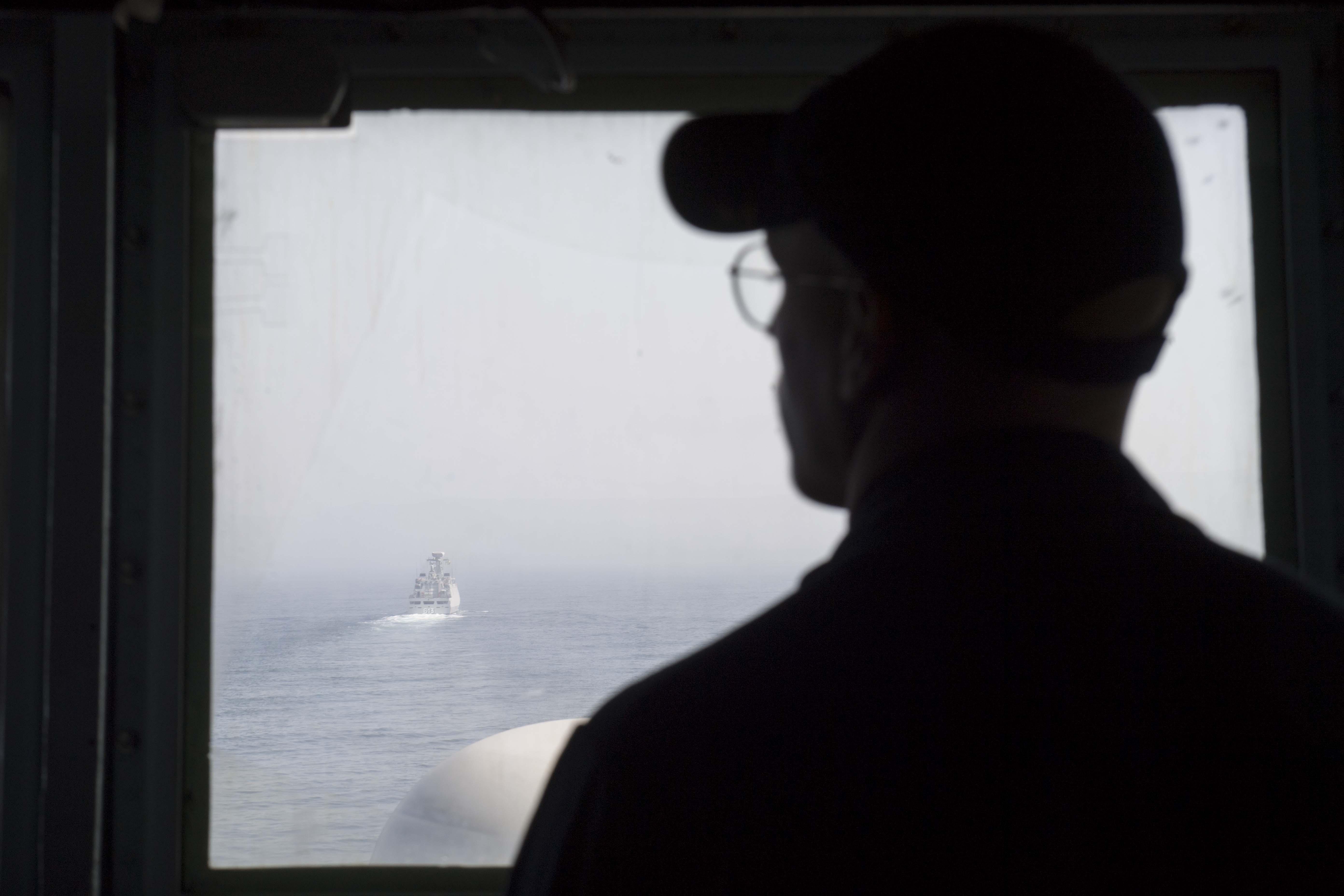 PASSEX 18 - USS ROSS (DDG71) et RMN Tarik Ben Ziyad (613) 30179460918_419c42f1fa_o