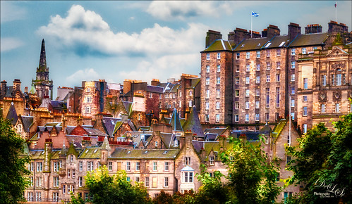 Image of Edinburgh, Scotland, cityscape