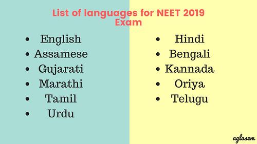 NEET 2020 Exam Pattern