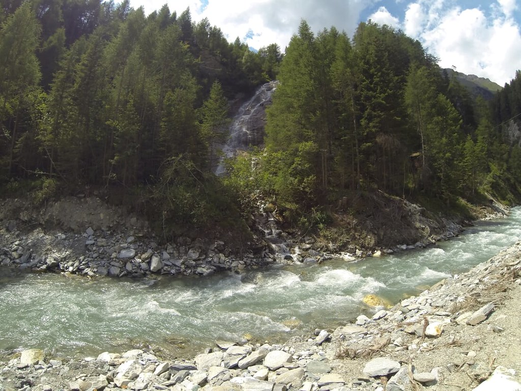 Entering the Hohe Tauern National Park