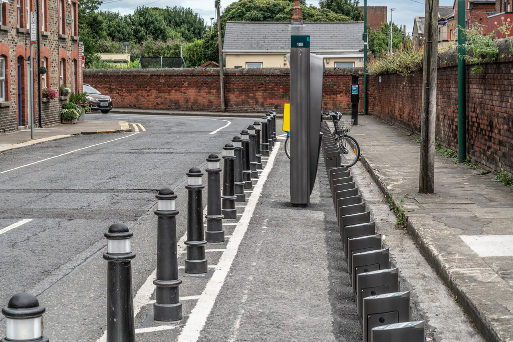 DUBLIN BIKES DOCKING STATION NUMBER 108  AVONDALE ROAD 002