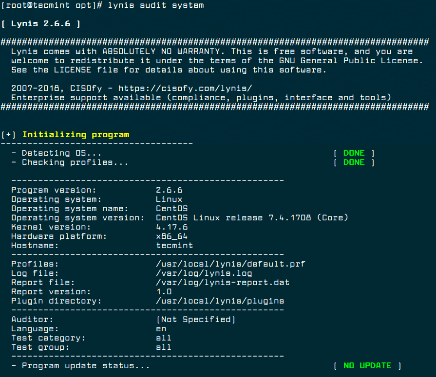 Lynis-Linux-Security-Auditing-Tool