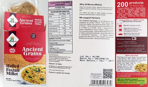 Foxtail Millet (tros gierst)