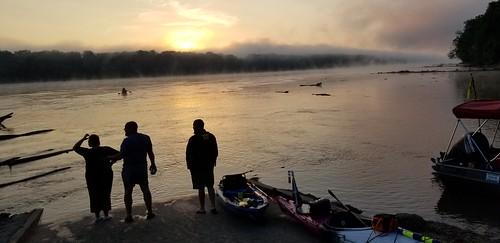 Morning Fog on Day 4
