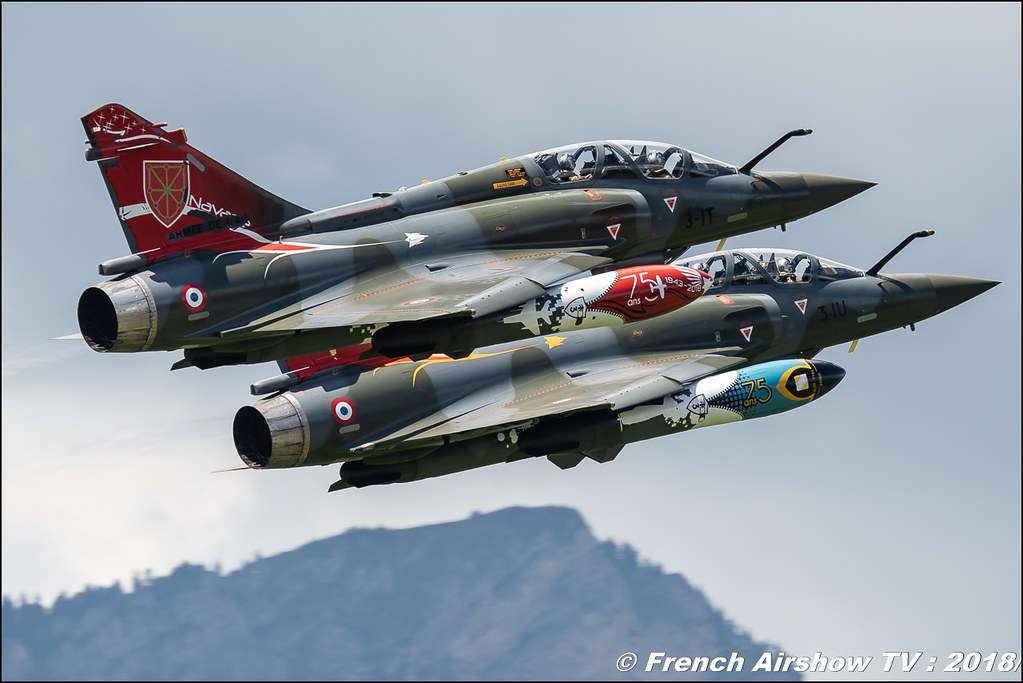 Couteau Delta Tactical Display - Mirage 2000D , Grenoble Air Show -Versoud 2018 , Meeting Aerien Meeting Grenoble , Alpes Dauphiné , alpes , Canon EOS , Sigma France , contemporary lens , Meeting Aerien 2018
