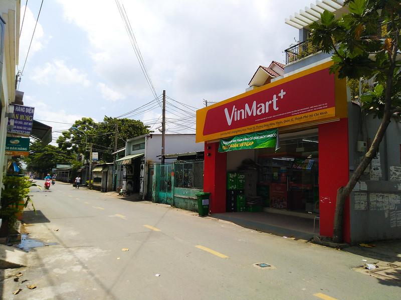 Vinmart gần căn hộ Centeria Đông Thuận quận 12