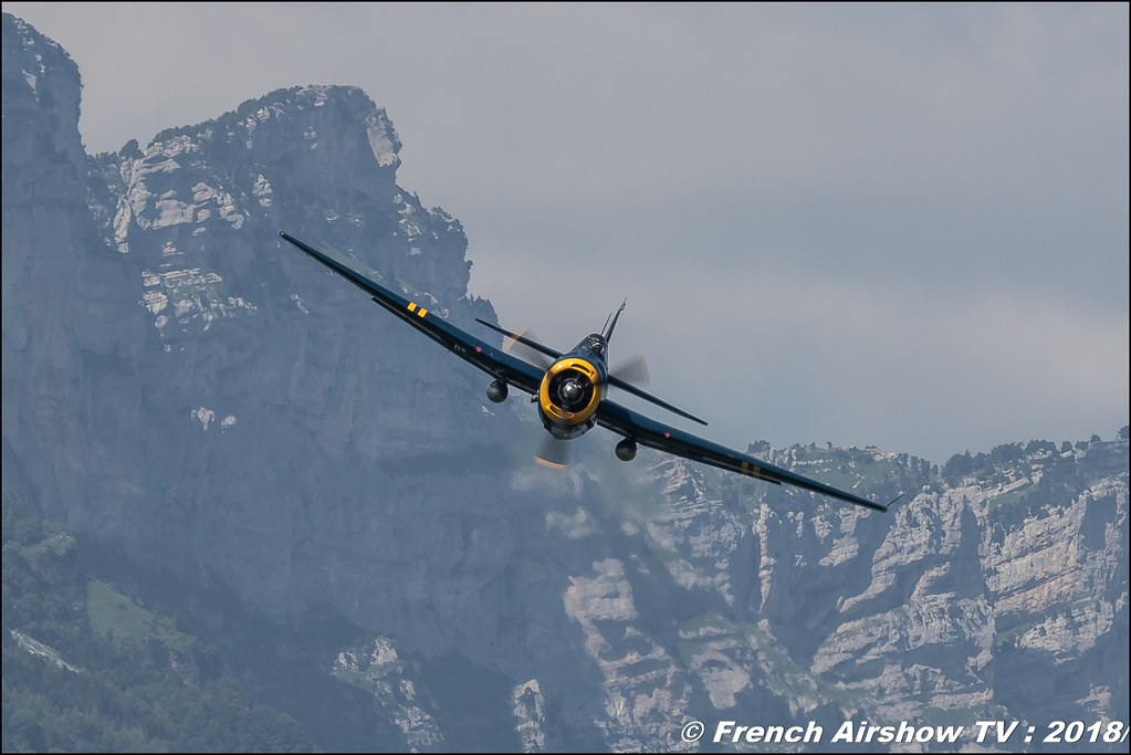 TBM-3R Avenger – HB-RDG , Grenoble Air Show -Versoud 2018 , Meeting Aerien Meeting Grenoble , Alpes Dauphiné , alpes , Canon EOS , Sigma France , contemporary lens , Meeting Aerien 2018
