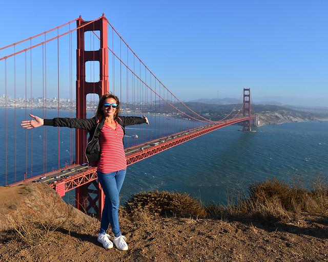 En el Golden Gate uno de los lugares que ver en San Francisco más populares