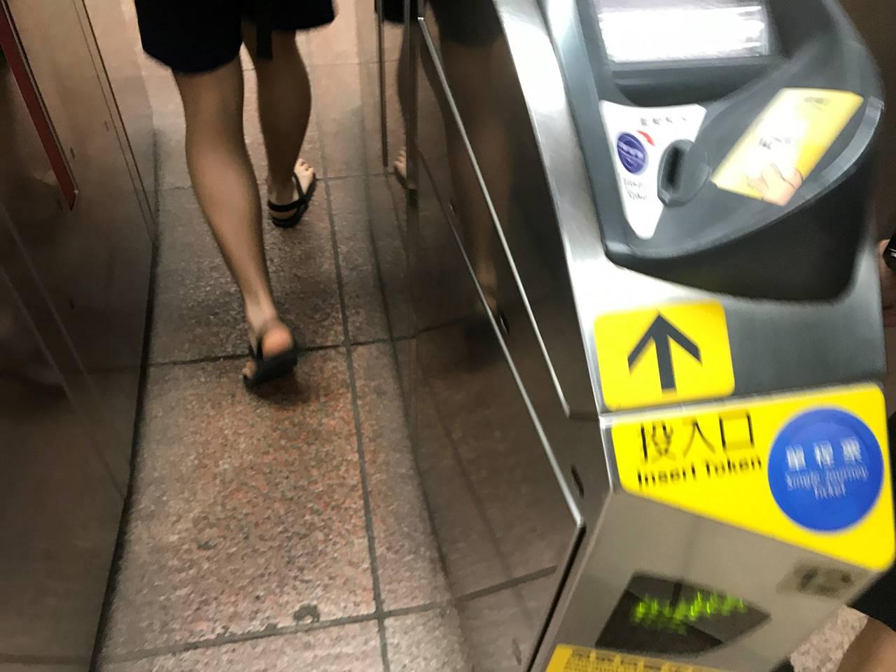 台湾・台北 MRT改札