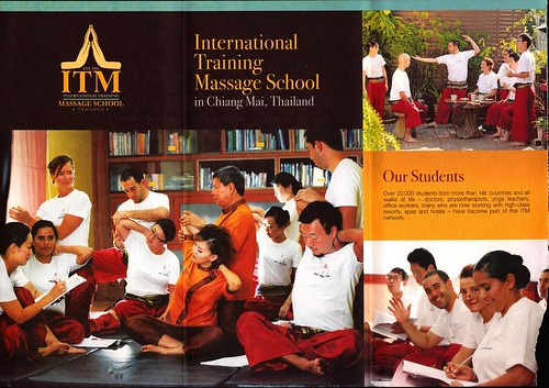 Brochure ITM International Training Massage School Chiang Mai Thailand 2