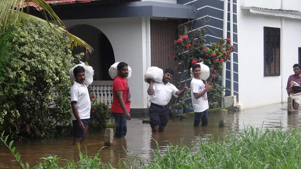 The Salvation Army responds to flooding in Kerala