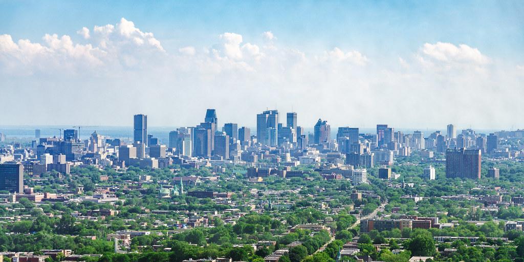都市綠化。圖為加拿大魁北克。圖片來源:Michael Muraz(CC BY-NC-ND 2.0)