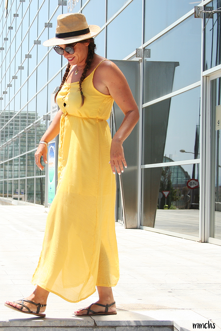 vestido amarillo 2018