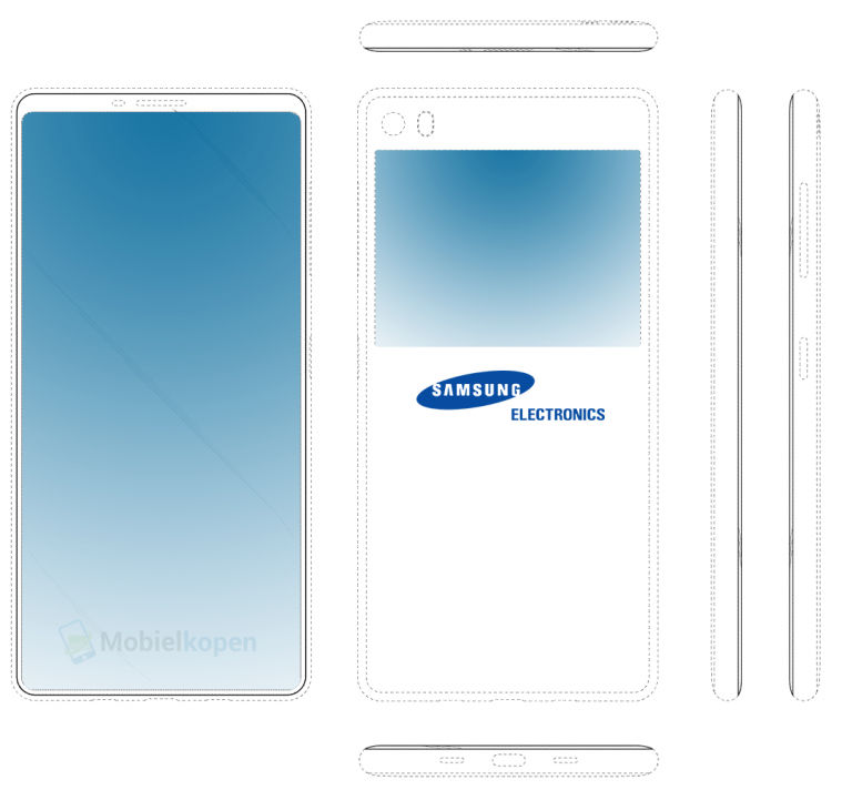 Samsung-bezel-less-design-patent
