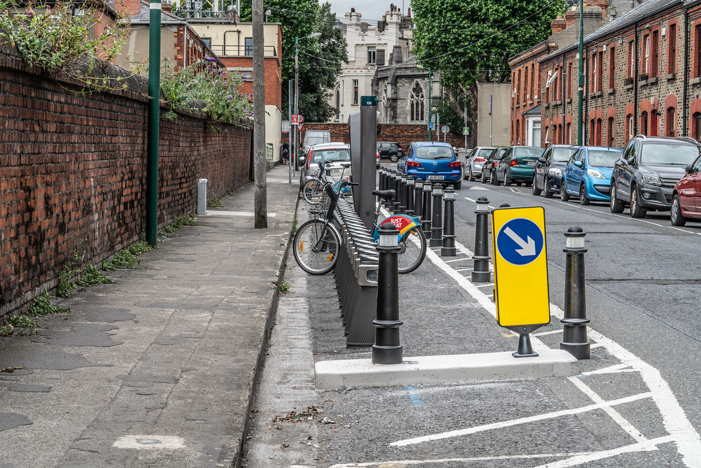 DUBLIN BIKES DOCKING STATION NUMBER 108  AVONDALE ROAD 001