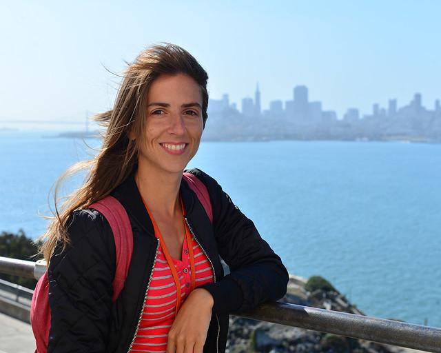 Vistas del skyline de San Francisco desde la isla de Alcatraz