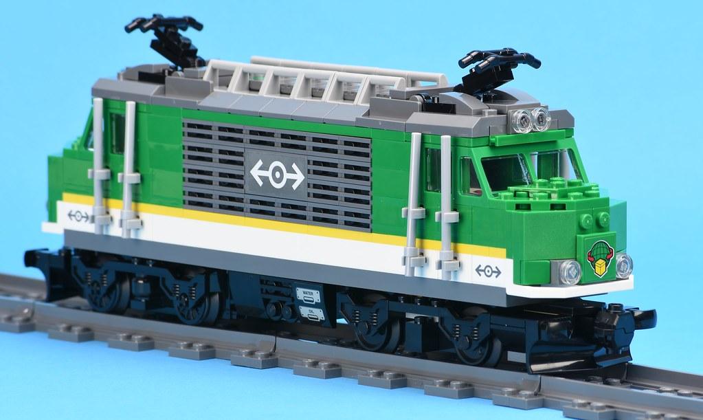 LEGO City 60198 Cargo Train review | Brickset: LEGO set guide and