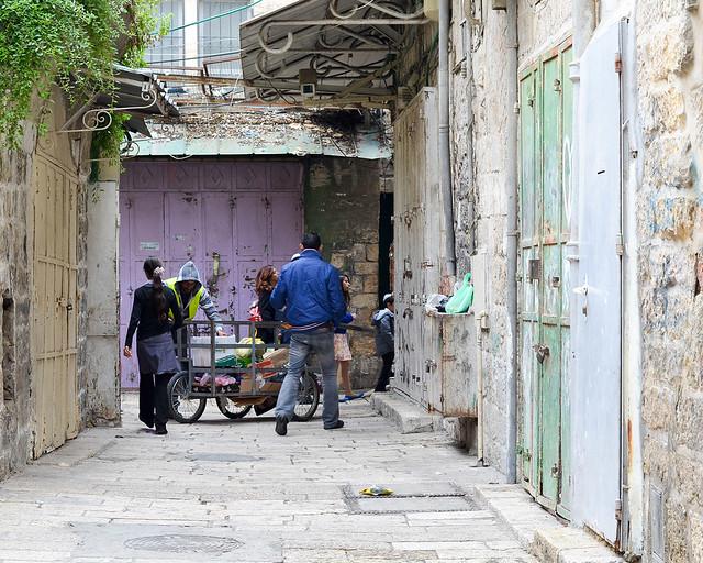 Caminando por las calles de Jerusalén