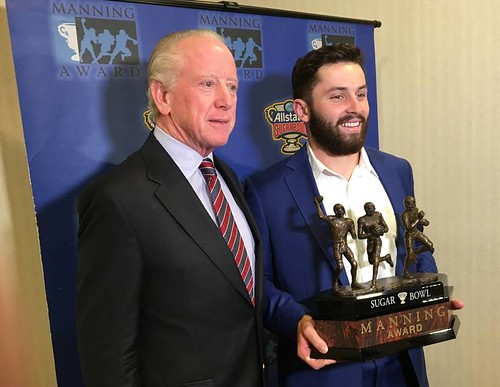 Archie Manning, Baker Mayfield