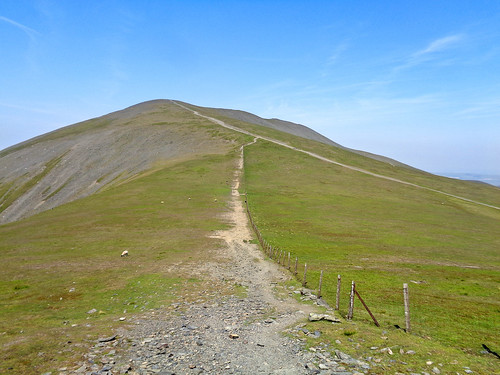 Looking back towards Skiddaw