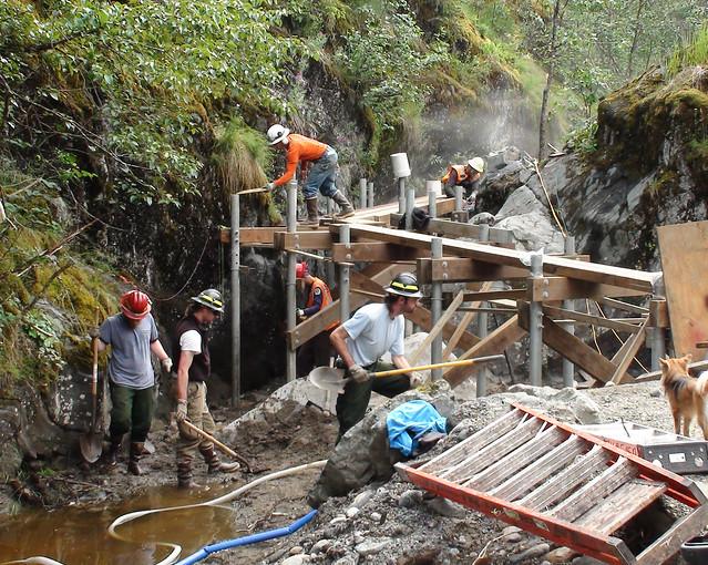 Mendenhall Glacier's Nugget Falls trail project
