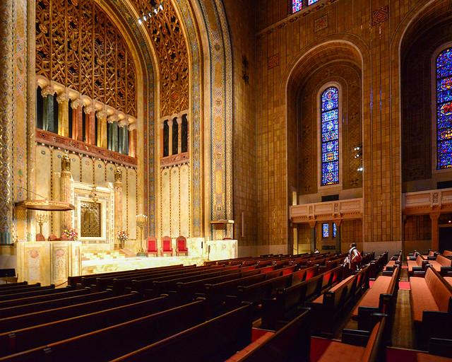 Sinagoga más grande del mundo, templo Emanu-El