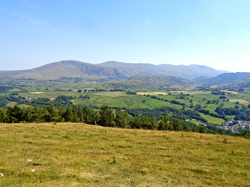 The Helvellyn range from Latrigg