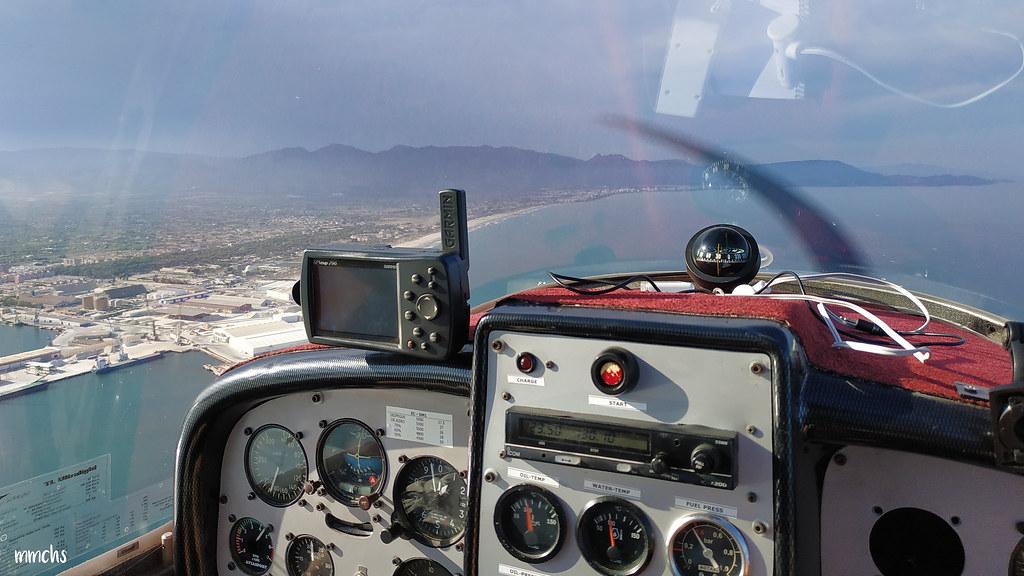 volando por Castellon