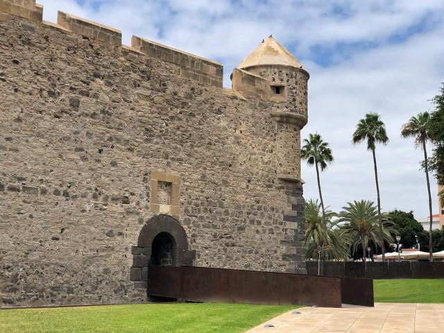 Castillo de la luz en Las Palmas de Gran Canaria