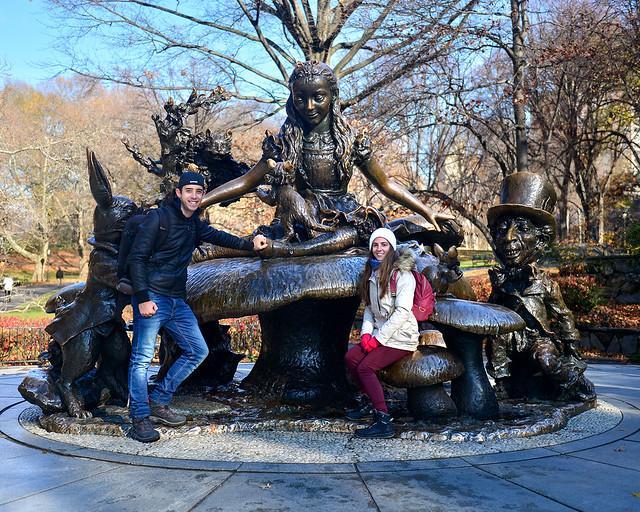 Estatua de Alicia en el país de las maravillas de Central Park