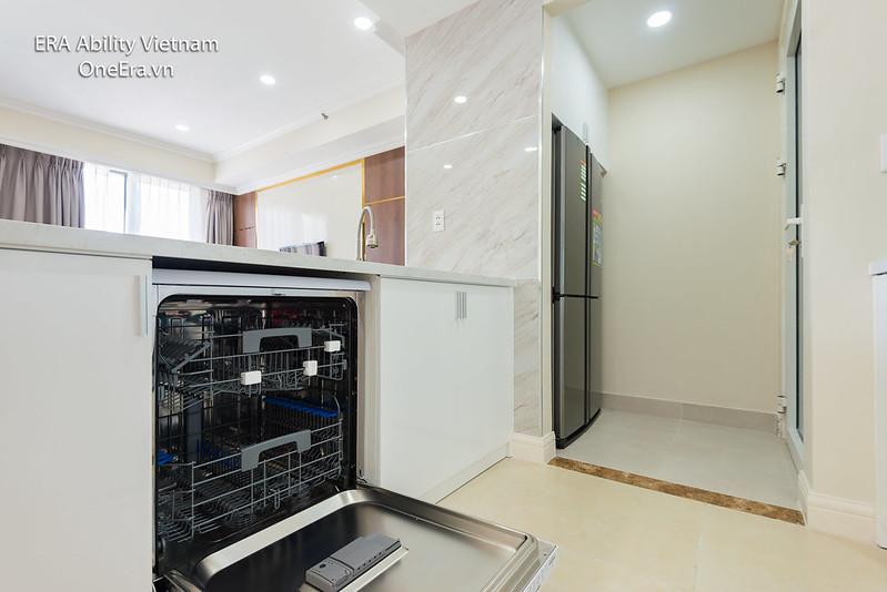 máy rửa chén phòng bếp