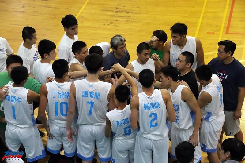 中華男籃U18培訓隊。(林志儒/攝)