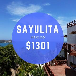 Sayulita, Mexico $1301 mo