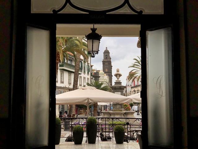 Entrada del Gabinete Literario de Las Palmas de Gran Canaria