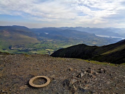 The strange trig ring on Blencathra