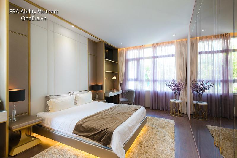 Phòng ngủ master Căn hộ mẫu 2 phòng ngủ Jamona Heights