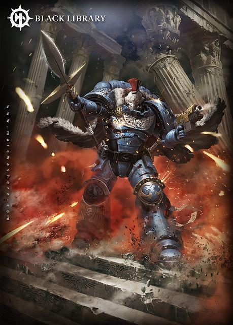 Аарон Дембски-Боуден «Копьё Императора» (Emperor's Spear), рисунок обложки