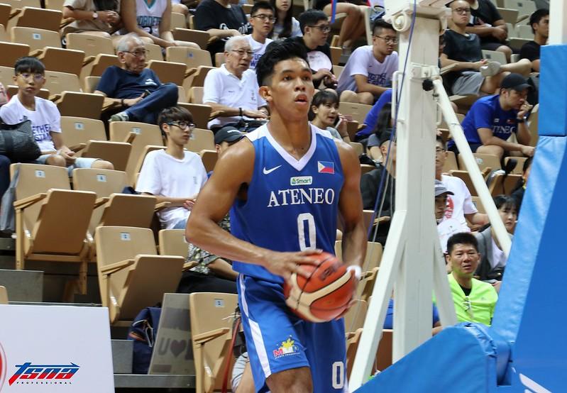 菲律賓前鋒Thirdy Ravena目前場均貢獻14.3分、7.3籃板、1.8助攻。(行大昀/攝)
