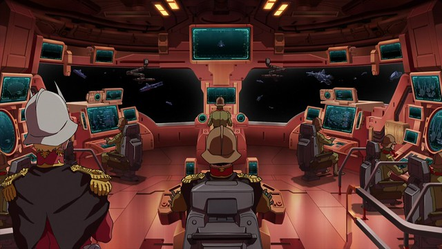 Rise of the Red Comet: Mobile Suit Gundam- The Origin Finale