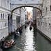 Gondolas at Bridge of Sighs, Venice
