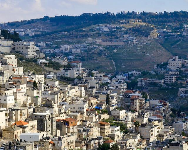 Casas del extrarradio de Jerusalén