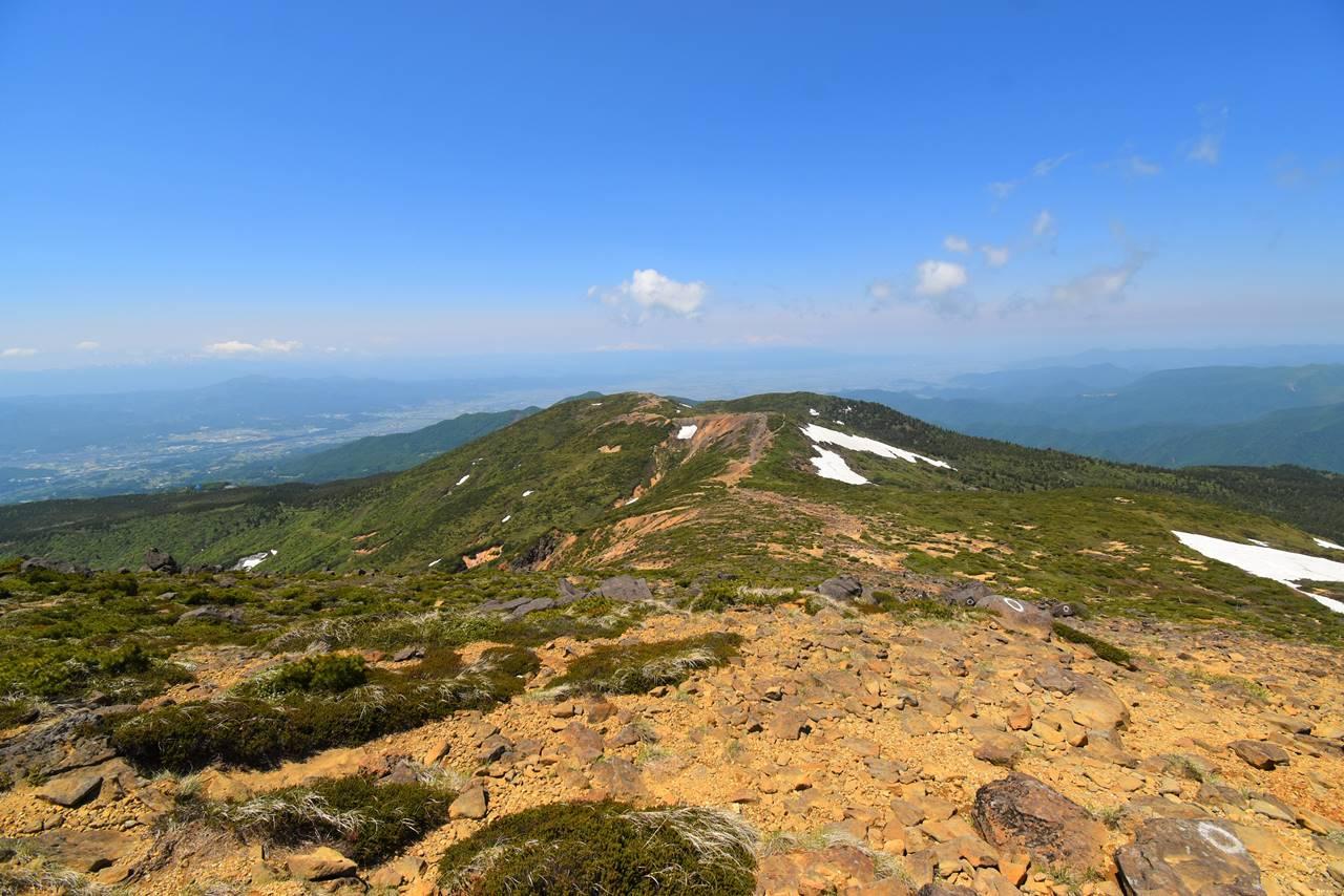 熊野岳から地蔵山へ
