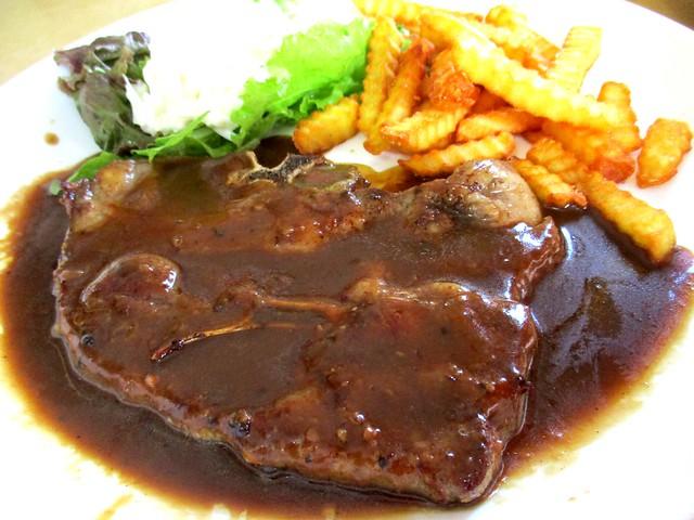 Colourful Cafe lamb chop 2