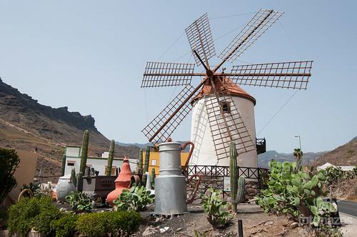 El Molino Quemado de Mogán en Gran Canaria