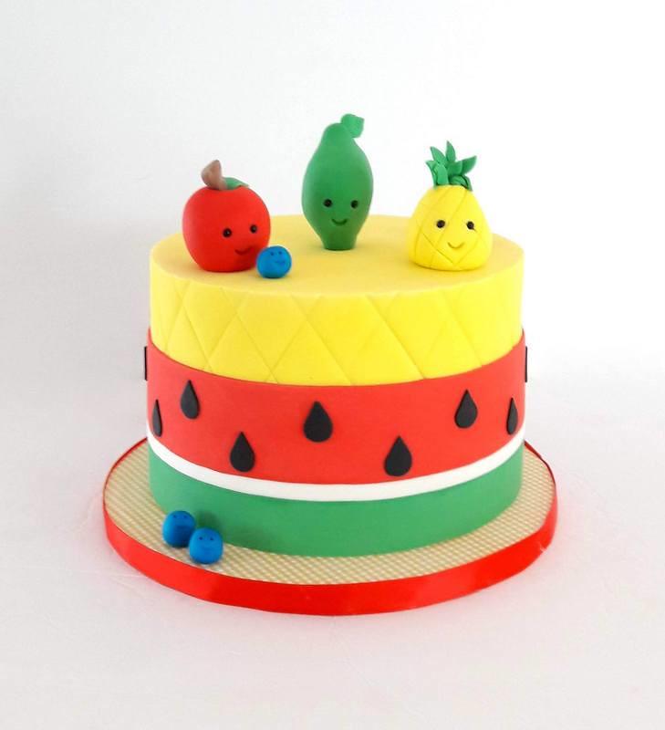 Fruit Themed Cake