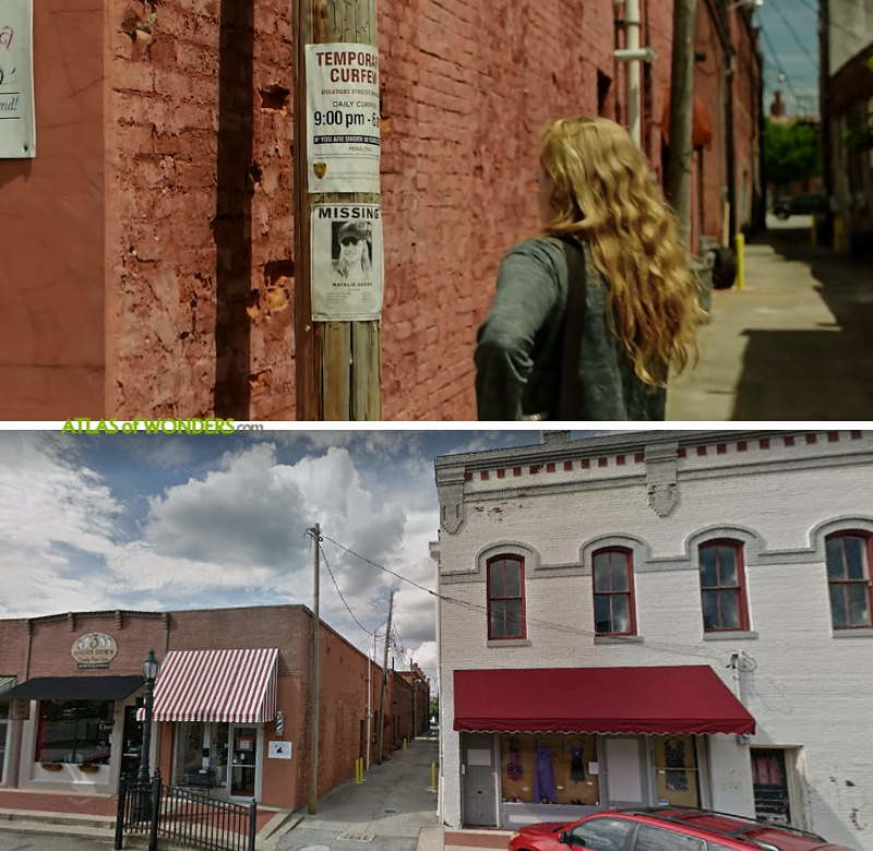 Sharp Objects Location