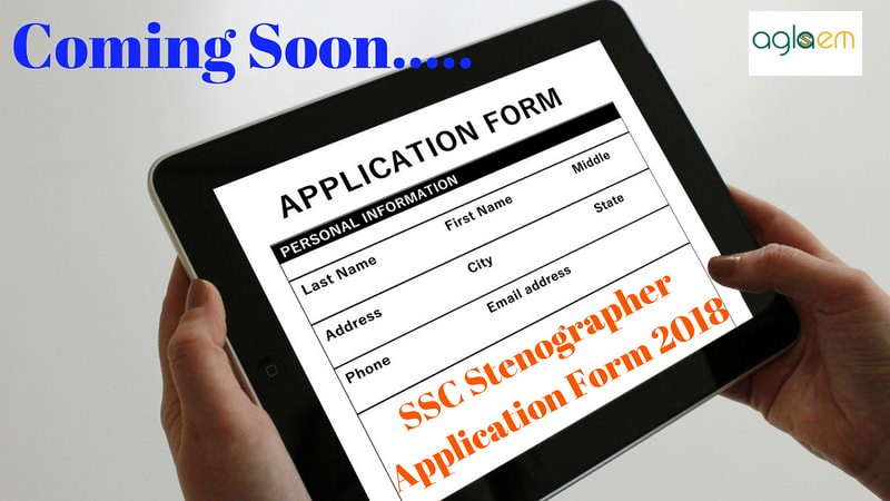 SSC Stenographer Application Form 2018   Apply Online for SSC Steno