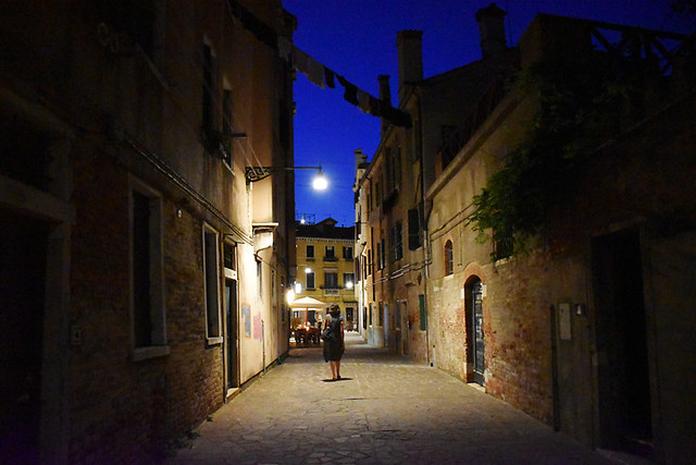 Alley leading to Campo Santa Margherita, Venice