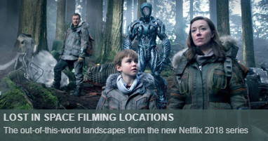 Where is lost in space filmed